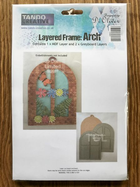 Tando Chipboard - Layered Frame - Arch